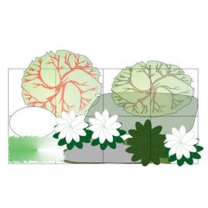 модуль белый лес