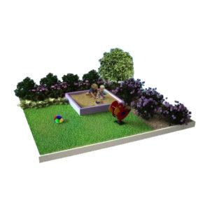 готовый ландшафтный модуль