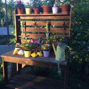 трюмо садовое