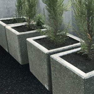 вазон из бетона