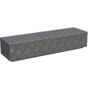 Прямая на подпорной стенке с бетонным сидением