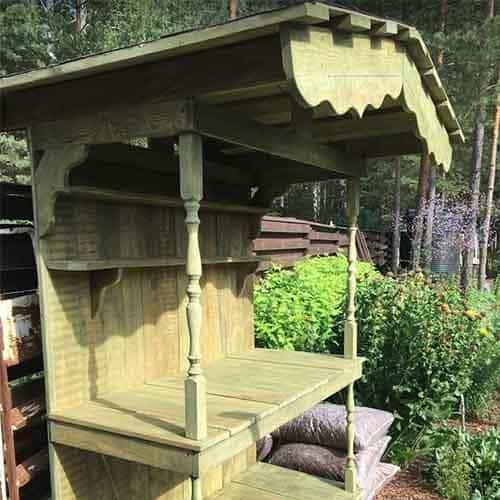 рабочий стол для сада